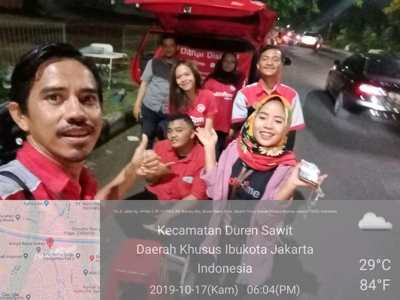 Sales IndiHome Duren Sawit Jakarta Timur