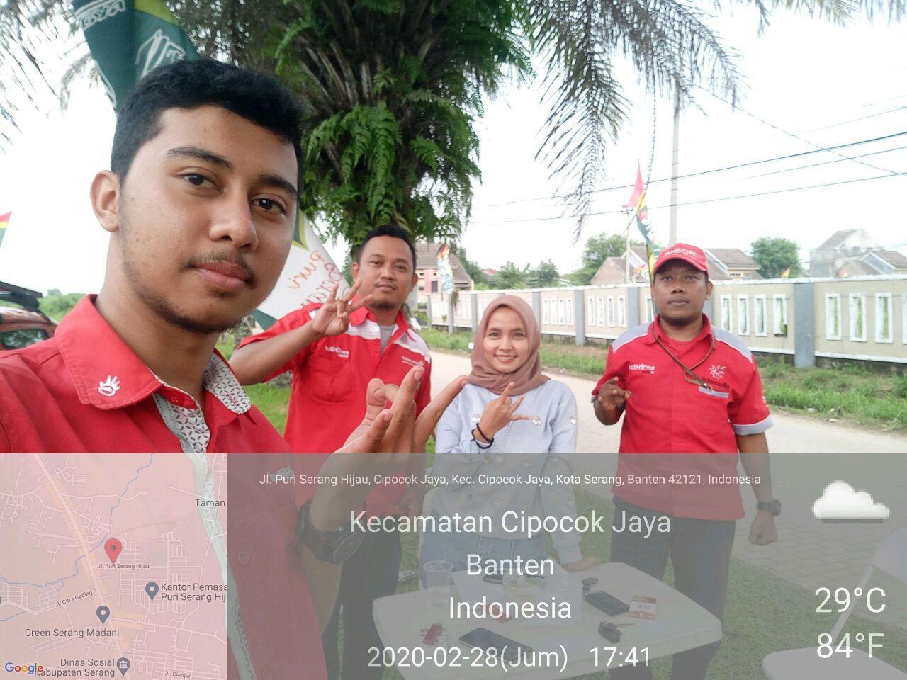 Sales IndiHome Serang Banten