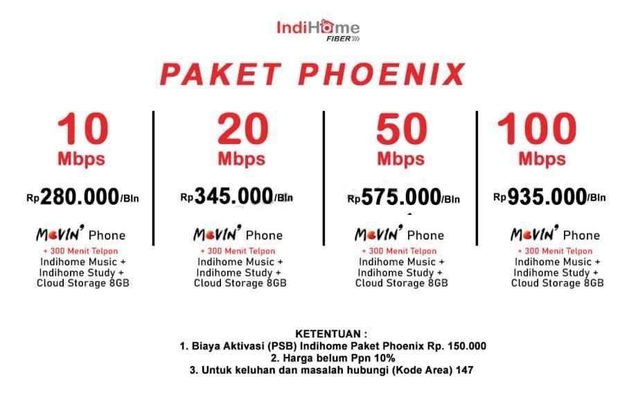 cara daftar dan pasang indihome phoenix